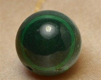Malachite 16mm round  DB125