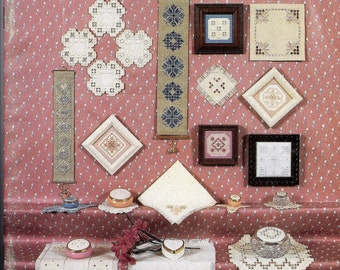 Elegant Accents in Hardanger Embroidery by Rosalyn Watnemo (Nordic Needle) PATTERNS   Paperbackbroidery