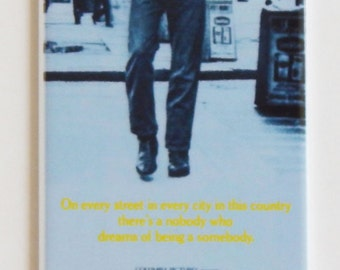Taxi Driver (Advance) Movie Poster Fridge Magnet (1.5 x 4.5 inches)