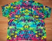 S M L Xl 2x 3x 4x 5x 6x Tie Dye Shirt, Kids, Adult, Plus size tie dye- Kaleidoscope Crush