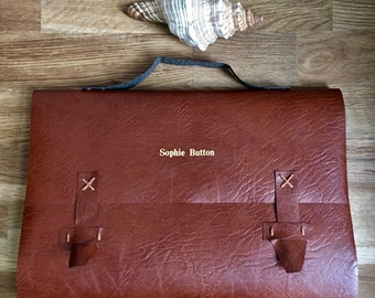 satchel journal - a4 - personalise it!
