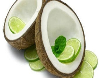 Coconut Lime Verbena Fragrance Oil - Candle/Soap Making - Strong/Uncut - Free Shipping in USA