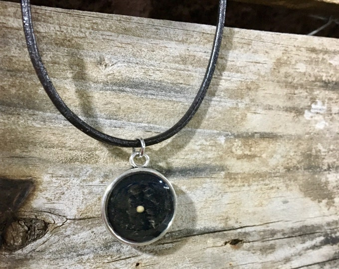 Mustard Seed Faith Leather Cord Necklace