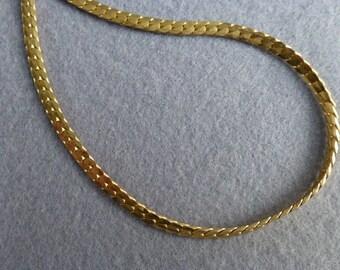 1980s Napier Gold Tone Chain Necklace