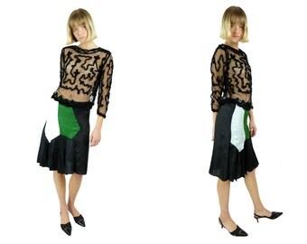 MARNI Knee Length Pleated Skirt