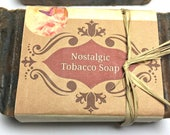 Tobacco Soap, pipe soap, Mens soap, soap bar, old fashioned soap