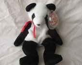 Vintage Beanie Baby 1997 Fortune the Panda