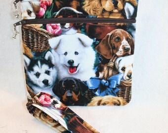 Man's Best Friend Adorable Crossbody Handbag w/adj Strap