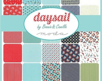 25% Off Sale Daysail Layer Cake by Bonnie and Camille for Moda - One Layer Cake - 55100LC