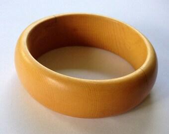 Bangle Bracelet in Ancient Alaska Yellow Cedar