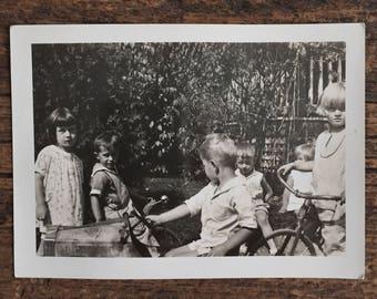 Original Vintage Photograph In the Land of Children