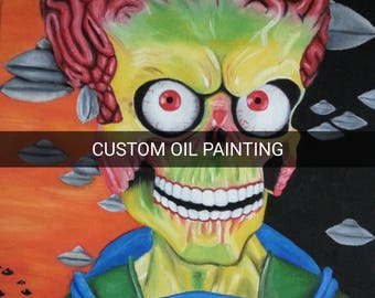 Custom Made to Order Oil Painting