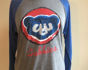 Chicago Cubs Unisex Baseball Shirt super soft
