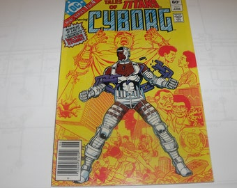 Tales of the New Teen Titans-Cyborg No.1 (1982)
