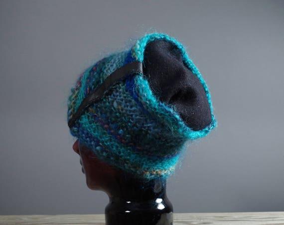 Up-cycled Wool Hat - Women's Winter Hats - Winter Wool Hats - Ecofriendly - Hats