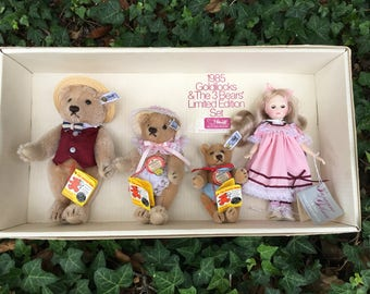 1985 Goldilocks and The Three Bears Signed Limited Edition Set # 2332 of only 5000 made.