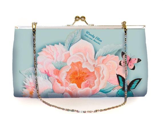 Retro clutch, Idda, clutchbag, birthday gift, gift for her, gift mom, Woody Ellen bag, christmas gifts,valentine gift ideas, bridal bag