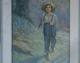 vintage calendar besse rolfe co. ca.1924