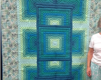 Twin size quilt: PRICE REDUCED