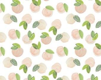 Crib Sheet Sweet Peach. Fitted Crib Sheet. Baby Bedding. Crib Bedding. Minky Crib Sheet. Crib Sheets. Peaches Crib Sheet.