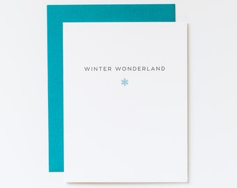 christmas card, holiday card, snowflake greeting card, seasons greeting card, winter wonderland card, neutral holiday card, snowflake note