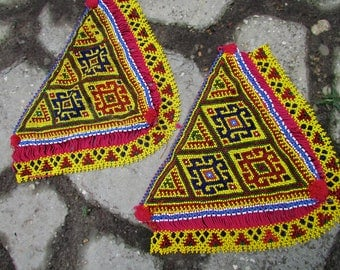 Beaded Tribal Patches