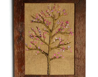fiber art  textile pictures wall hanging picture free embroidery