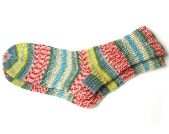 Hand knit socks for women, knit socks, wool socks women