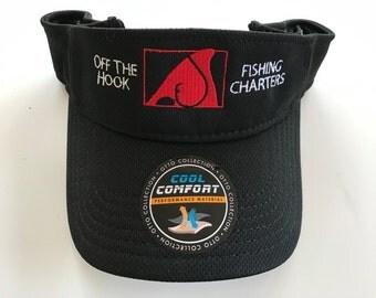 OFF THE HOOK Black Cool Comfort Visor
