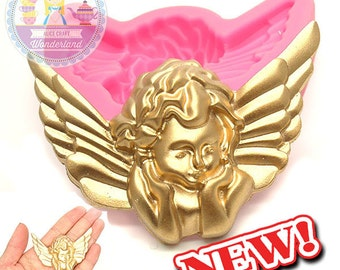 Love Cupid Silicone Mould Mold 501L Fondant Cake Gum Paste Scrapbooking Polymer Clay Sugar Craft Food Safe BEST QUALITY