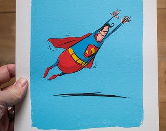 Superman - Limited edition Print