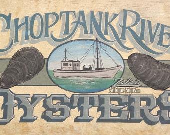 Choptank River  Oyster   Print