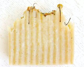 HANDMADE SOAP - Chamomile Shea Organic Coconut Milk Handmade Herbal Soap - Handmade Soap - All Natural - Herbal Soap - Chamomile Soap