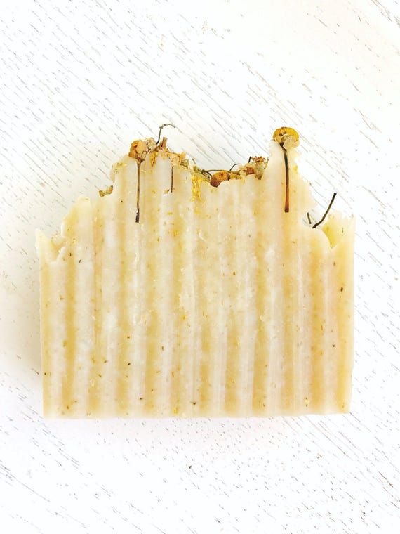 HANDMADE SOAP - Chamomile Shea Organic Coconut Milk Handmade Herbal Soap - Handmade Soap - All Natural - Herbal Soap - Chamomile Soap