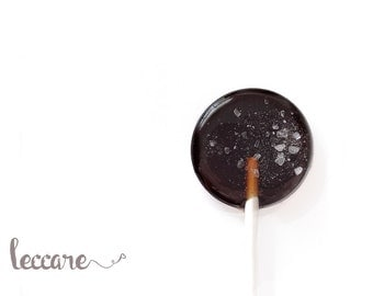 12 Chocolate Salted Caramel Lollipops  // Sweet and Salty // Made to Order // Chocolate Lollipops // Fall Wedding Favor