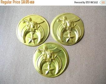 King Tut Stampings - Shriners Medallions - Shriners Symbol - Scimitar Sword Medallion