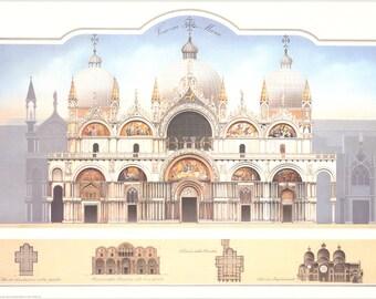Libero Patrignani-Venezia- San Marco-1993 Poster