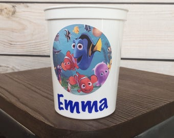 Personalized Finding Dory Cup