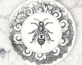 Bee dinnerware melamine plate