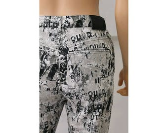 anni 1990 Mickey Mouse I Pantaloni Pantalone gamin le ernest fatte in Francia piccolo