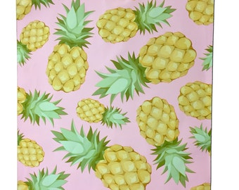 """200Pack 10x13"""" Beautiful Pink Pineapple FLAT POLY Mailers -Hawaiian Dream Self Adhesive Poly Mailing Bags, 10x13"""" Business Mailing Bags"""