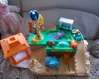 Fisher Price Little People Zoo Many Accessory with it You get it ALL For One Price,Vintage Toys,Fisher Price Toy,Not Included in Coupon Sale