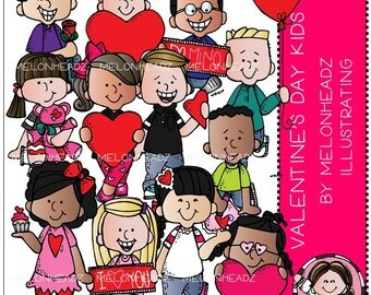 Valentine's Day clip art - Kids