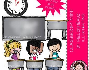 Classroom clip art Mini Set