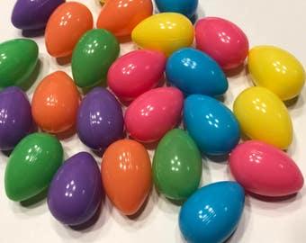 6 piece small Easter Egg mix, 15 x 22 mm (LRBX)