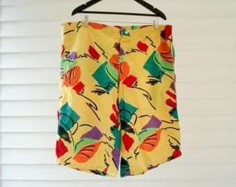 Bright shorts - 1980s