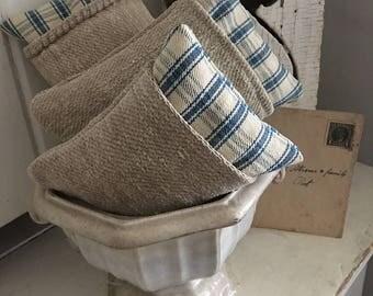 Lavender Sachet~ Antique Grainsack