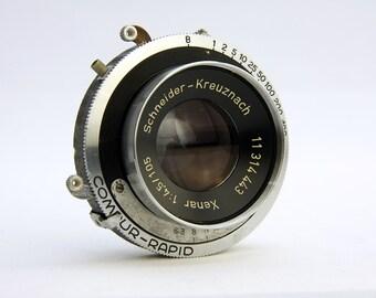 Schneider Xenar f/4.5 105mm Lens