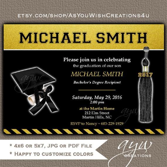 Graduation party invitation printable invitation graduation il570xn filmwisefo
