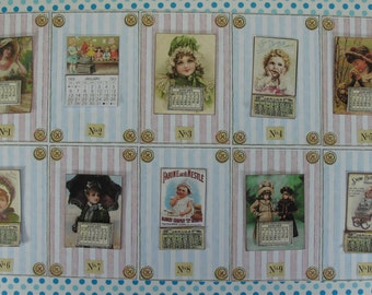 Dollhouse miniature victorian  Calendars